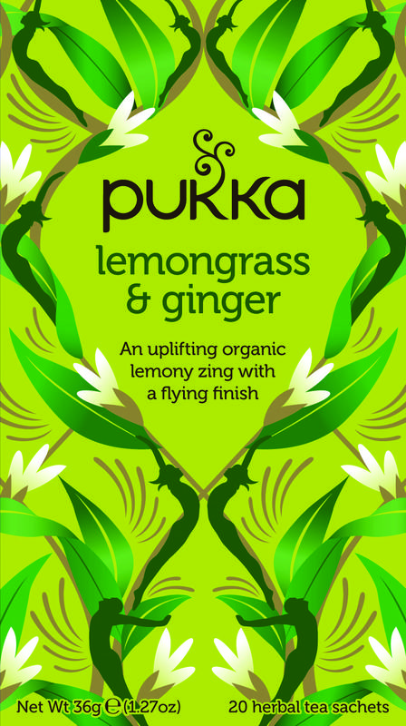 Lemongrass & ginger thee bio