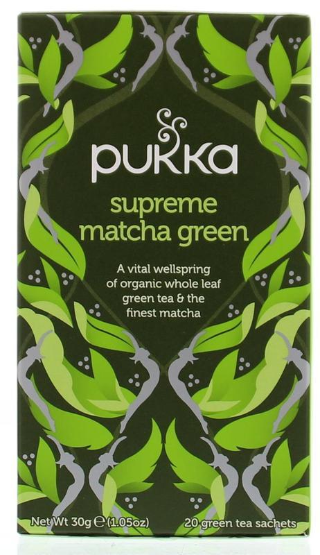 Supreme matcha green tea bio