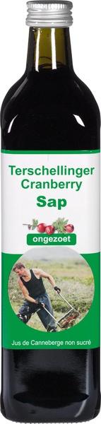 Cranberrysap puur ongezoet