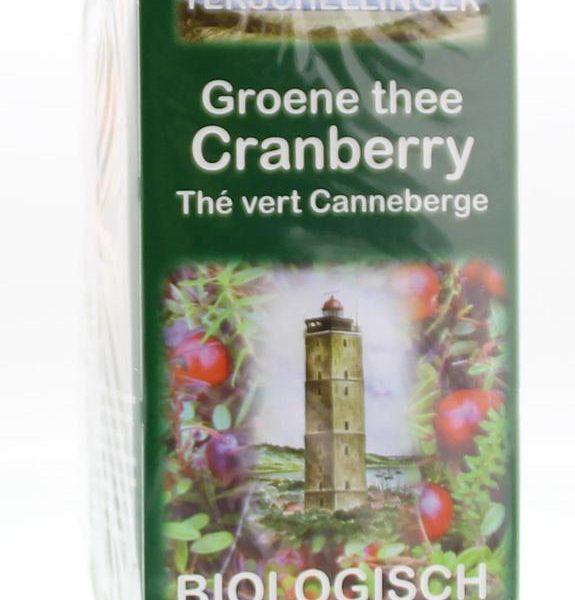 Groene thee cranberry bio