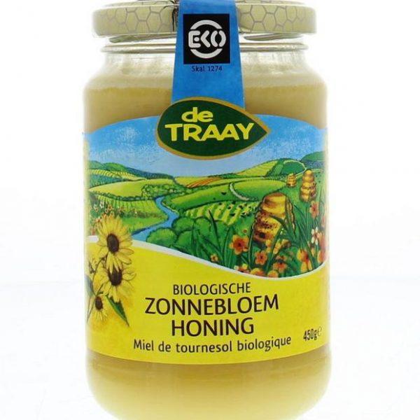 Zonnebloemhoning creme eko bio