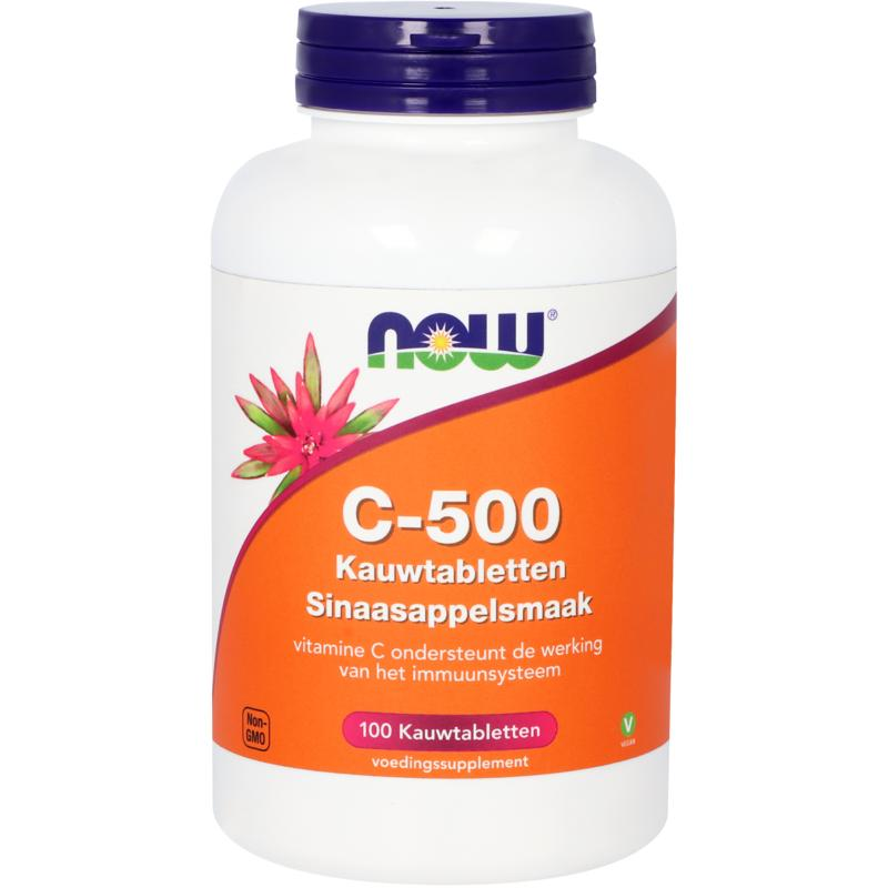 C-500 kauwtabletten sinaasappelsmaak