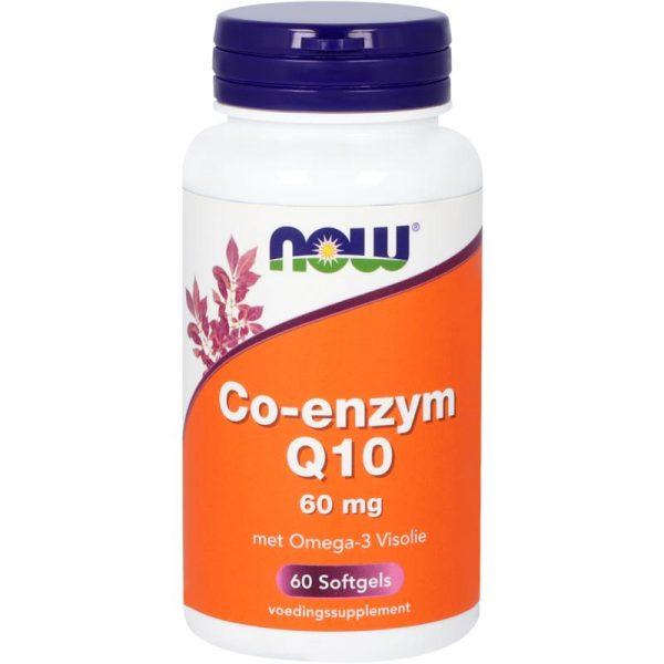 Co-enzym Q10 60 mg met omega-3 visolie