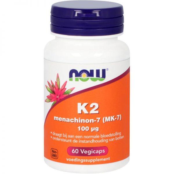 K2 Menachinon-7 (MK-7) 100 mcg