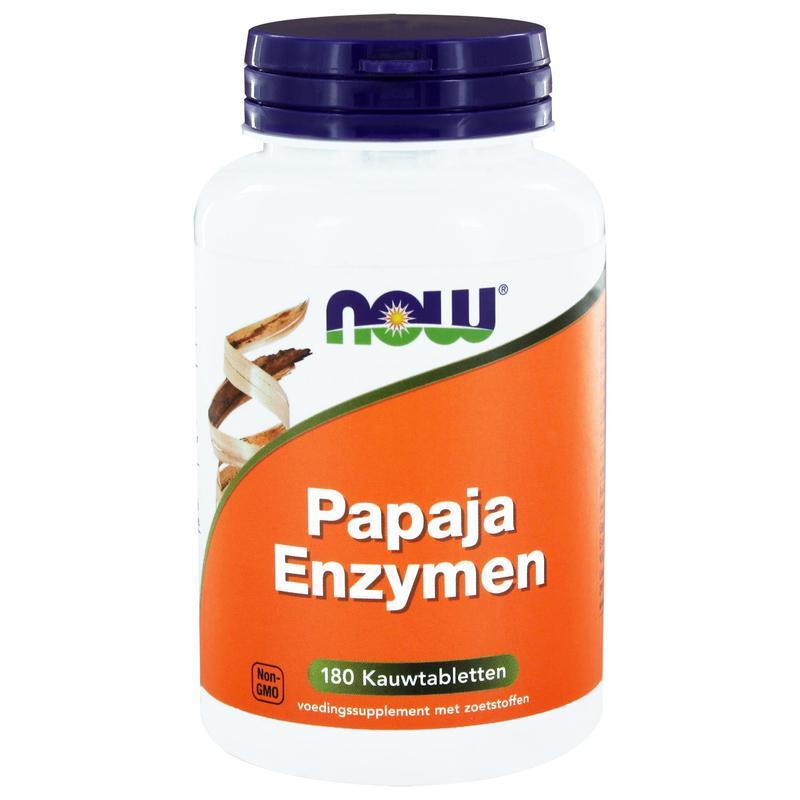 Papaya enzymen kauwtabletten