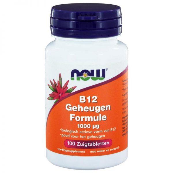 Vitamine B12 geheugenformule 1000 mcg