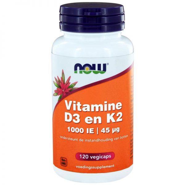 Vitamine D3 1000IE & Vitamine K2