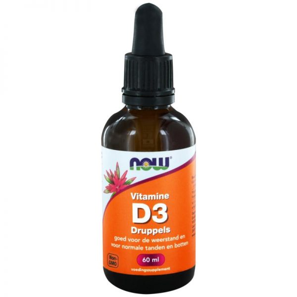 Vitamine D3 druppels 400IE