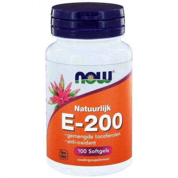Vitamine E-200 natuurlijke gemengde tocoferolen