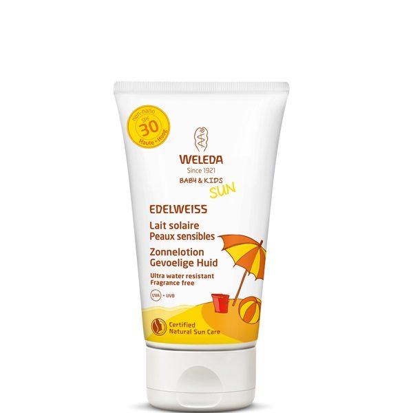 Edelweiss zonnelotion gevoelige huid SPF30