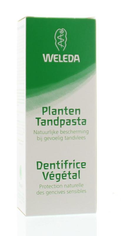 Planten tandpasta