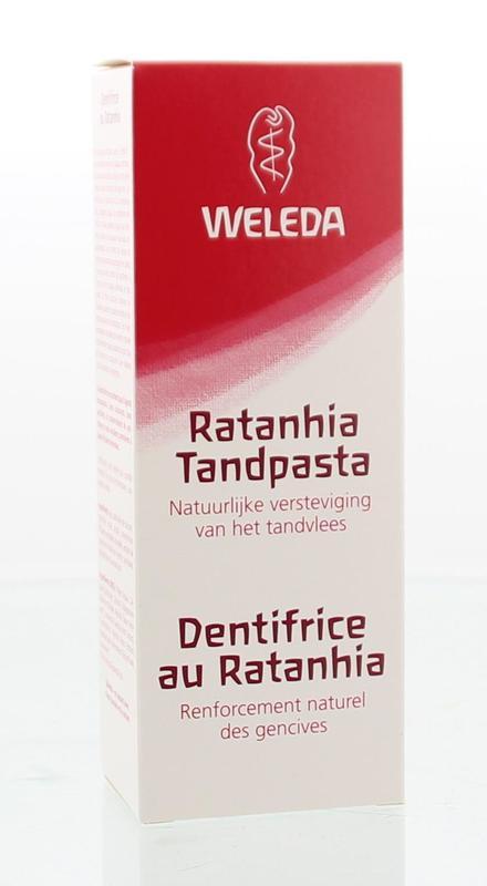Ratanhia tandpasta