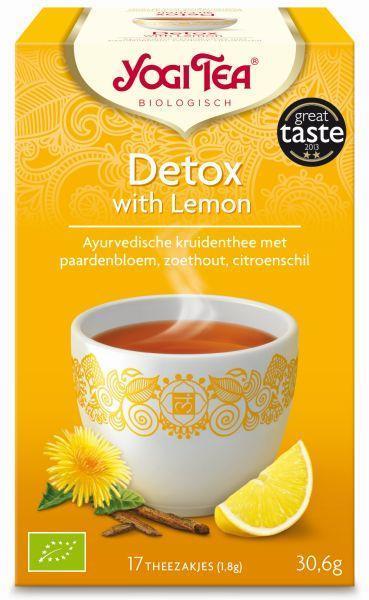 Detox with lemon bio