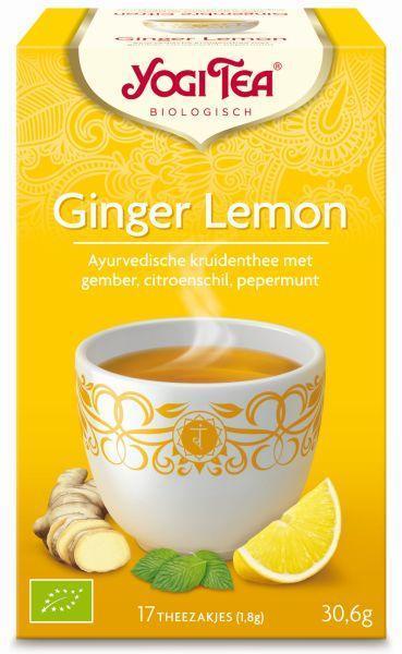 Ginger lemon munt bio
