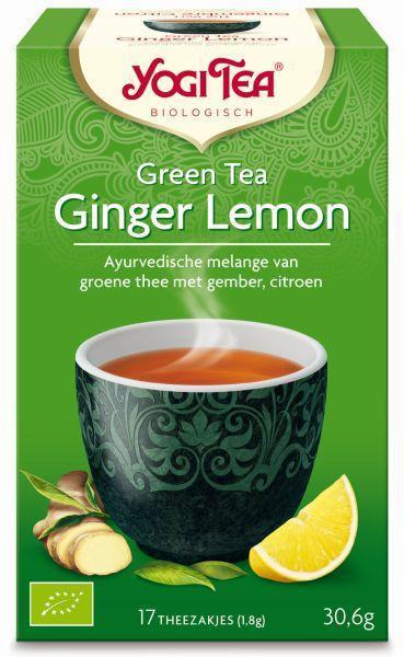 Green tea ginger lemon bio