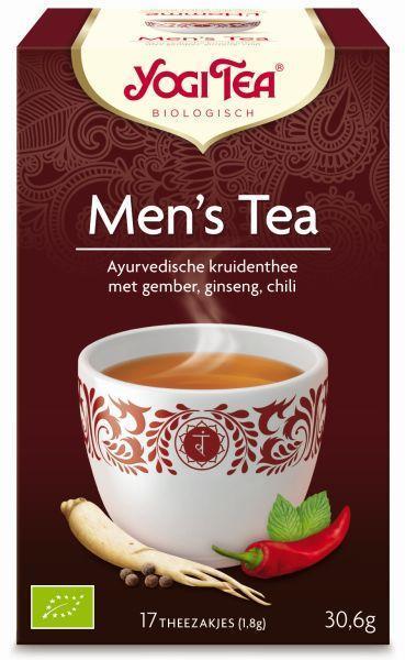 Men's tea bio