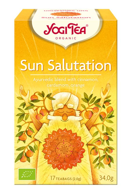 Sun salutation bio