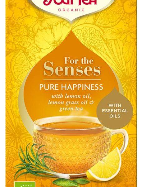 Tea for the senses pure happiness bio
