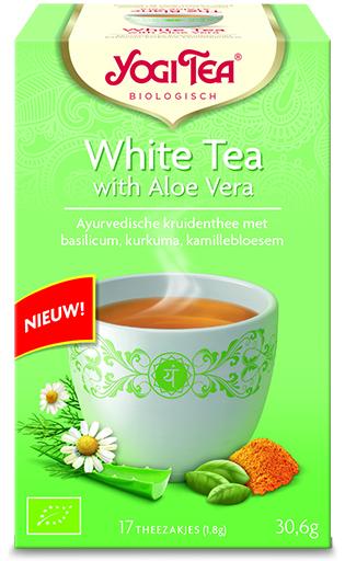 White tea with aloe vera bio