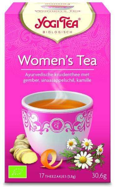 Women's tea bio