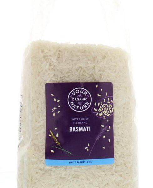 Basmati rijst wit bio