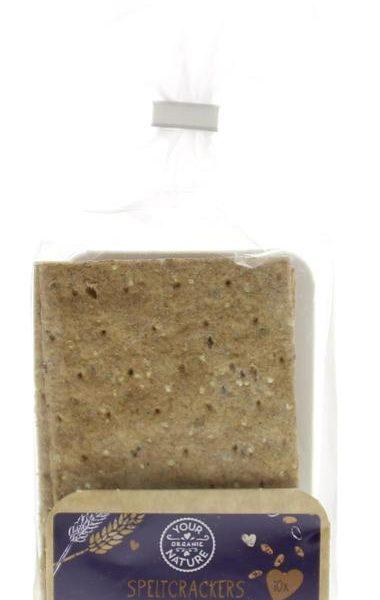 Spelt crackers meerzaden bio