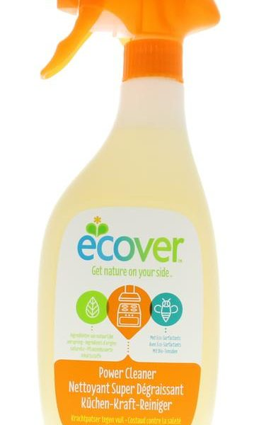 Power cleaner spray