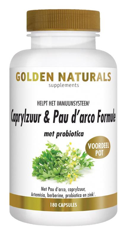 Caprylzuur & pau d arco formula