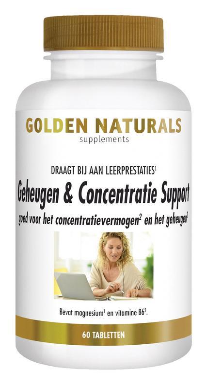 Geheugen & concentratie support