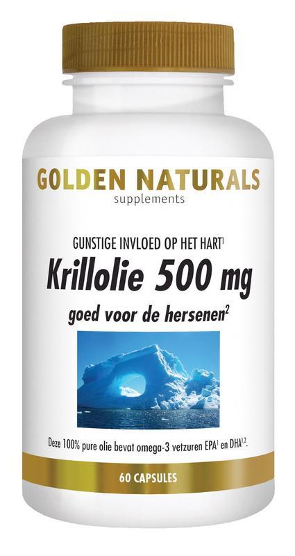 Krillolie 500 mg