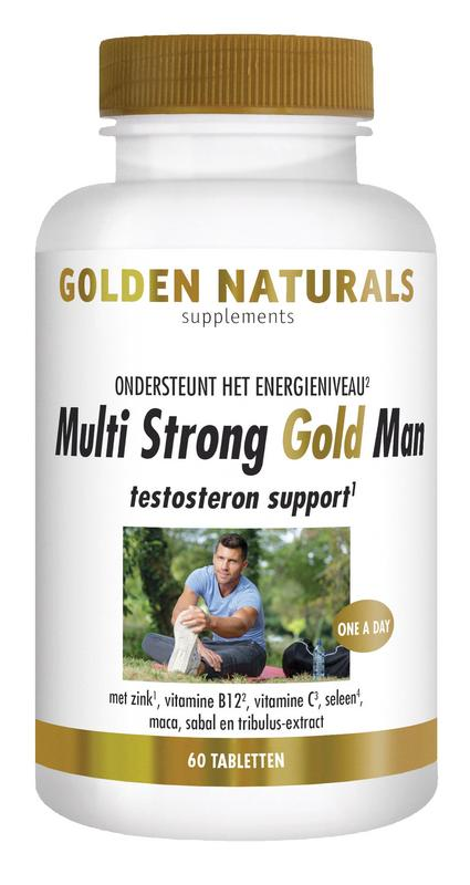 Multi strong gold man