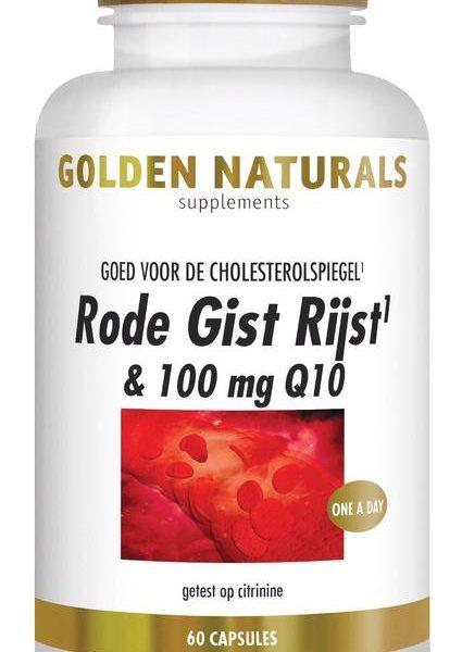 Rode gist rijst & Q10 100 mg