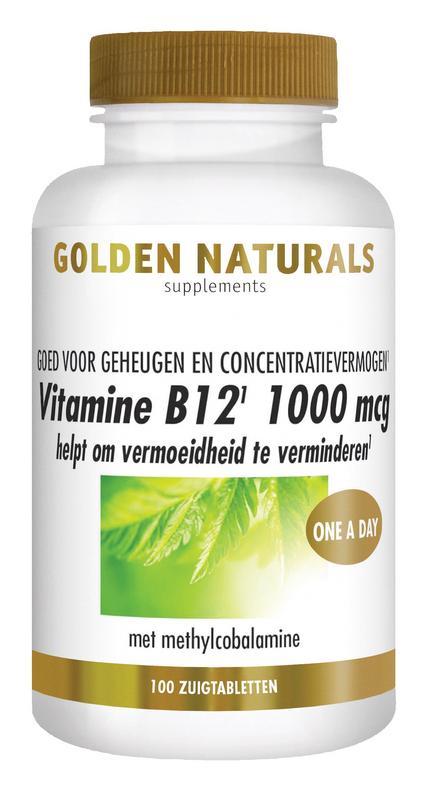 Vitamine B12 1000 mcg vegan