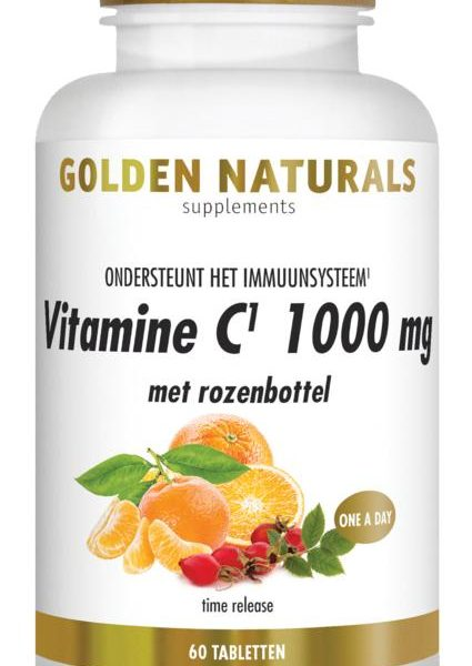 Vitamine C 1000 + rozenbottel