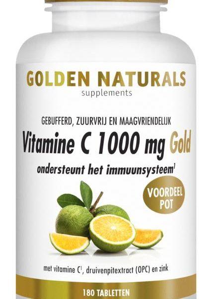 Vitamine C1000 mg gold vegan