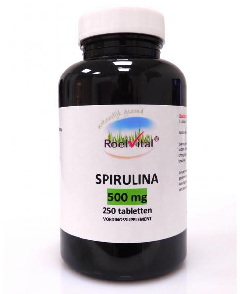 RoelVital Spirulina 500 mg (250 tabletten)