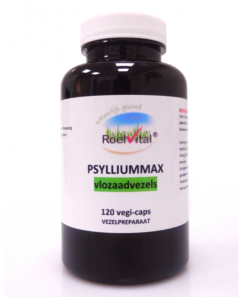 RoelVital Psyliummax Vlozaadvezels capsules