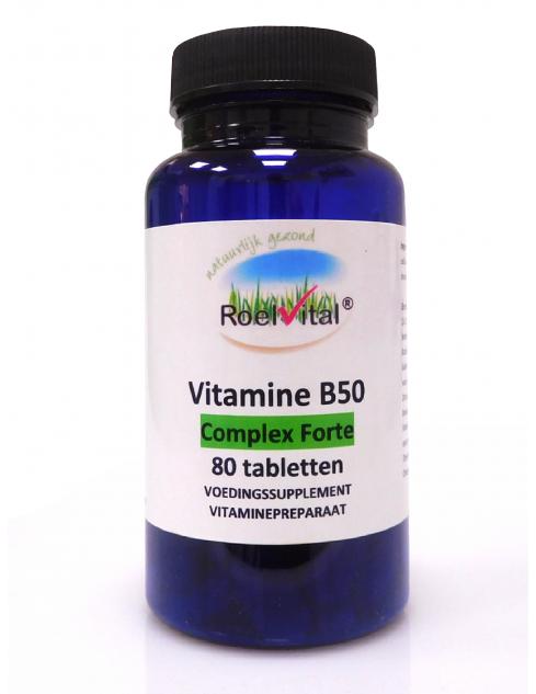 RoelVital Vitamine B50 complex