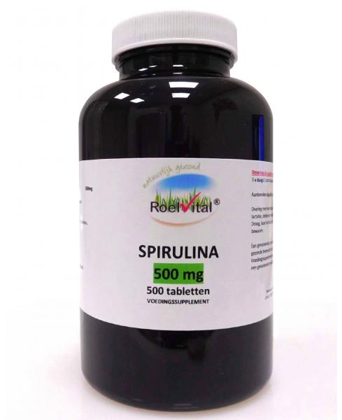 RoelVital Spirulina 500 mg (500 tabletten)