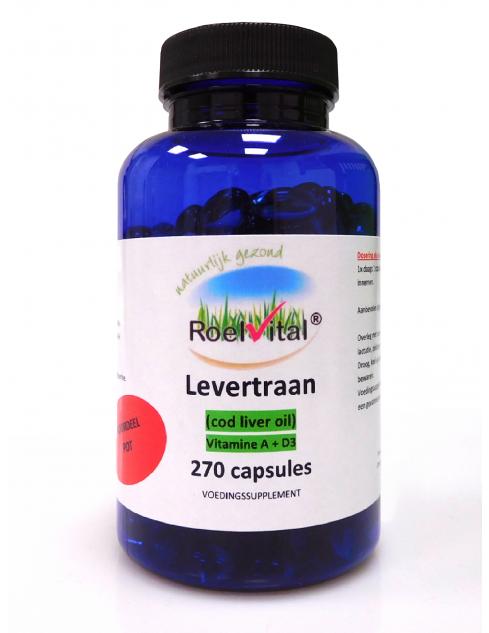 RoelVital Levertraan (270 capsules)