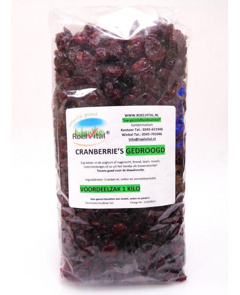 Cranberrie's Gedroogd (voordeelpak)