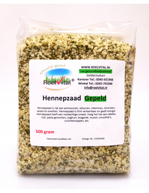 Hennepzaad Gepeld (voordeelpak)