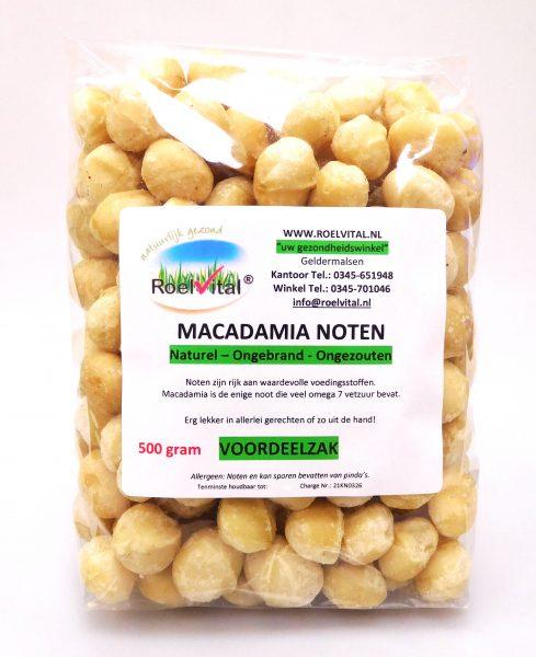 Macadamia Noten Ongebrand VOORDEELZAK