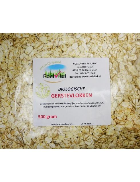 Gerstevlokken Biologisch