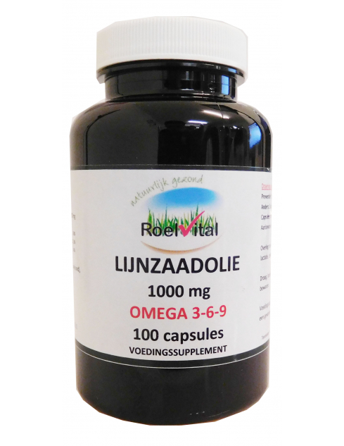 RoelVital Lijnzaadolie capsules