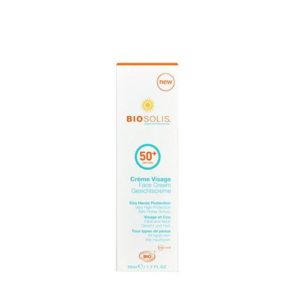 Face cream SPF50