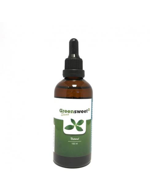 Greensweet Stevia vloeibaar naturel (100 ml) zoetstof natuurlijk