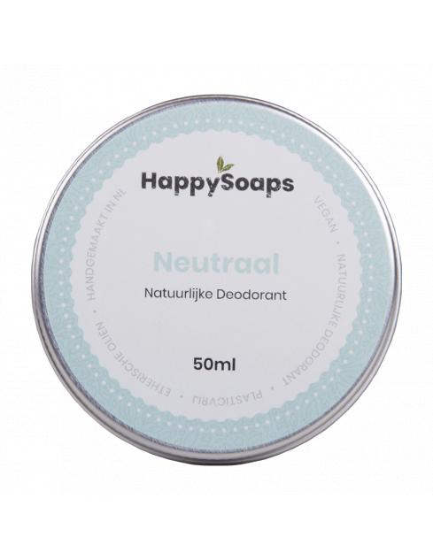 HappySoaps Natuurlijke Deodorant Neutraal