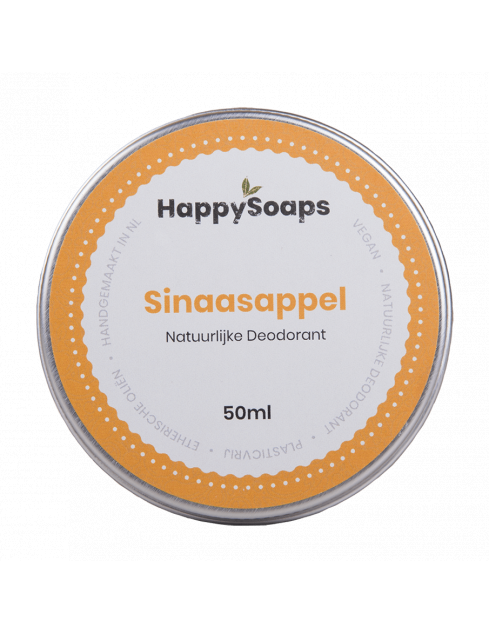 HappySoaps Natuurlijke Deodorant Sinaasappel