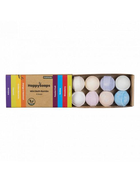 HappySoaps Mini Bath Bombs Tropical Fruits